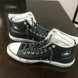 Men chuck Taylor Converse All Stars black leather